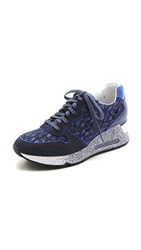 Ash Women's Love Lace Sneakers, Indigo, 35 EU (5.5 B(M) US Women)