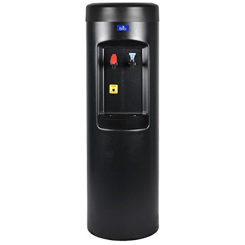 Bottleless Water Cooler Dispenser w/ (Dispenser Only, BLACK Hot/Cold)