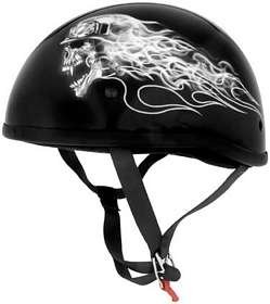 (Skid Lid Helmets Sl Original Biker Skull Xl Half Helmets Pn:646930)