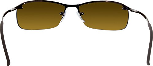 de RB3183P Bar soleil brown Ban Ray Rectangulaire Lunette Top 7IxwEBAq