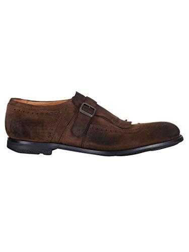 Buckle marrone in camoscio Men Eog0019ae9f0aal Shoes Church's v8BxwqER0x