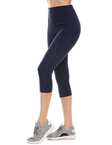 Ekouaer Womens Capris Workout Leggings