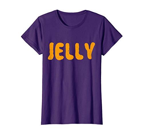 Womens Jelly T-Shirt Matching Halloween Costume Medium Purple