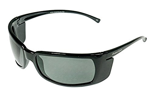 Ocean Eyes Reef - Shiny Black Polarized - Sunglasses Ocean Eyes
