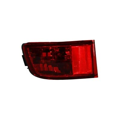 TYC 17-5160-00 Toyota 4 Runner Driver Side Replacement Rear Reflector: Automotive