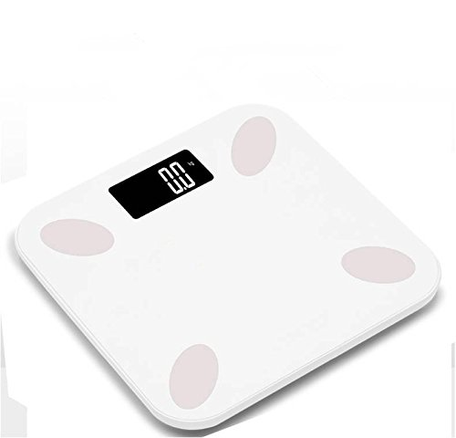 Smart Digital Bluetooth Body Fat Scale Body Fat Analyzer with Phone and Tablet App to Manage Your Weight Measures Weight BMI Fat Water Muscle Bone Mass BMR AMR and Visceral Fat