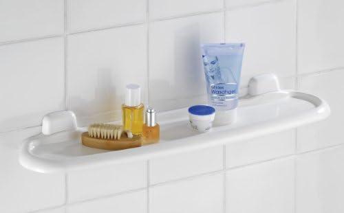 WENKO Wall Shelf Pure, White, 14 x 58 x 5.5 cm