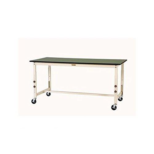 【キャンセル不可】DT08315 1800x750x750-1000mm ワークテーブル(キャスター付) B019I5MAIM