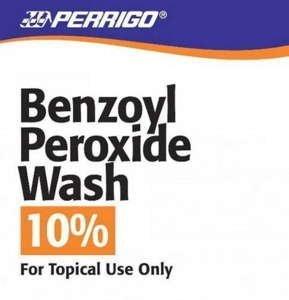 BENZOYL PEROXIDE LQ 10%227GM WASH