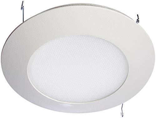 HALO Recessed 70PS 6-Inch Trim Wet Location and Air-Tite Listed Trim with Frosted Albalite Lens, White ()