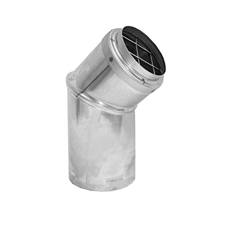 (Duravent 4pvl-hcr Pellet Stove Pipe Cap, Stainless Steel)