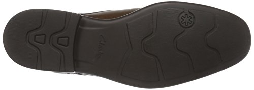 Clarks Gosworth Over, Herren Derby Schnürhalbschuhe Braun (Walnut Leather)