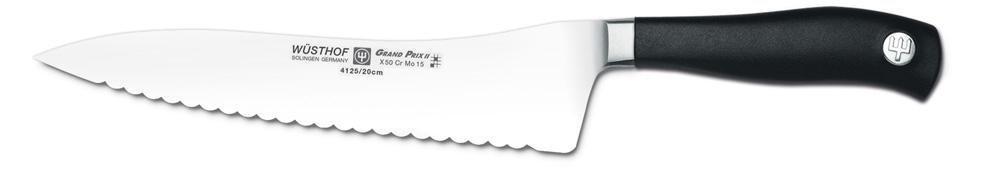 Wüsthof Grand Prix II Bread Knife - Offset