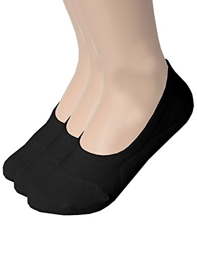 OSABASA Mens Casual No-Show Socks of Hidden Flat Boat Line with Anti-Slip Grip BLACK US /Asia XL (KMMS019)