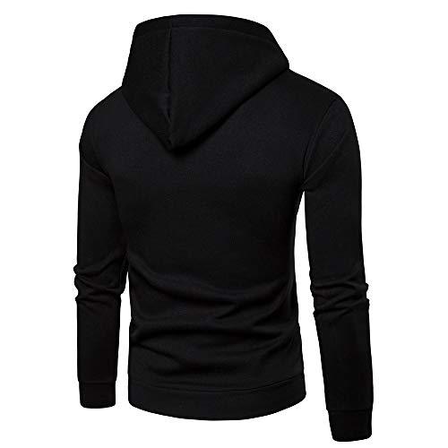 Noir Léger Capuche Survêtement Vetement Basket Mode Indoor Manches Poches Longues Sweatshirt Corde Sweat Osyard Homme w6PIIx