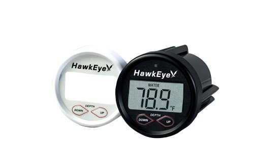 HawkEye In-Dash Depth Sounder with Air and Water Temperature