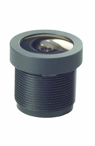 Wide Angle 2.1mm 1080P Board Lens Black for Security Camera CCTV Surveillance cambase 4332062874