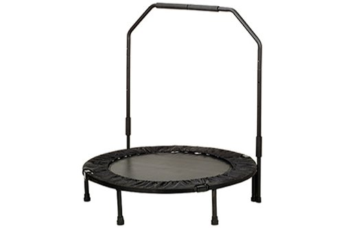 Sunny Health & Fitness 40'' Foldable Trampoline with Bar