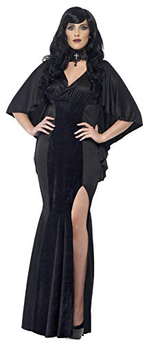 Smiffy's Women's Vamp Costume, Dress, Legends of Evil, Halloween, Plus Size 26-28, 44338 for $<!--$31.95-->