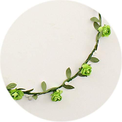 - Bridal Wreath Hairbands For Women Bridesmaid Wreath Hair Accessories For Women Wedding Headdress Beach Wedding Decorations