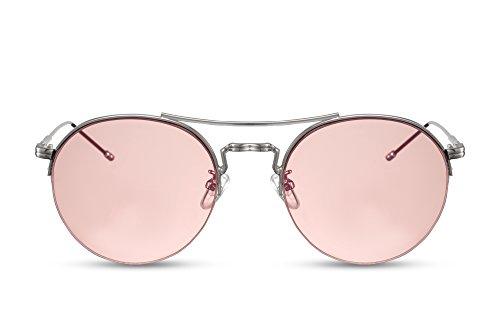 Cheapass Sunglasses Lunettes Rondes John Lennon Rétro Classique FD70d