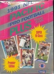 1991 Pacific Plus Series 1 Football Cards Unopened Wax Box