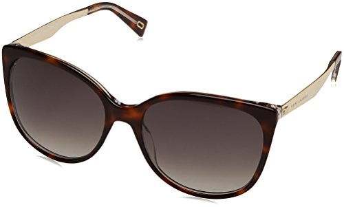 Marc Jacobs Women's Cat Eye Sunglasses, Dark Havana/Brown, One - Marc Havana Jacobs Marc Sunglasses By