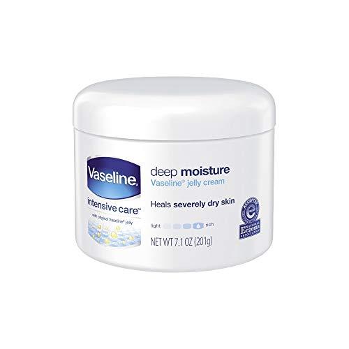 Vaseline Intensive Care Cream Deep Moisture 7.1 Ounce Jar (210ml) (2 - 7.1 Jar Ounce