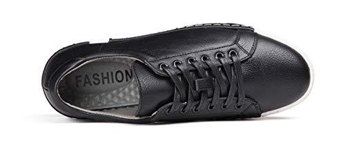 Sneakers Men for grandi Grigio Casual di Lace traspirante Shoes up Driving EU Colore Dimensione Nero moda ZHRUI 44 dimensioni Fw4AqW0W