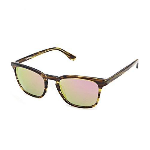Hourvun Men&Women Polarized Sunglasses Mirror Lens,Wayfarer Fashion Mens Sunlgasses - Sunlgasses