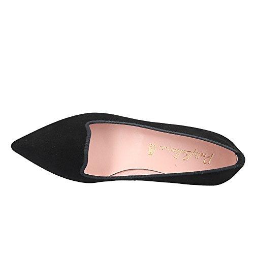 Pretty Ballerinas BALLERINESS 47870 Angelis Noir Noir dTyvc2