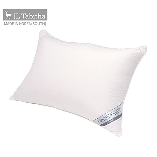 JL Tibitha Bed Pillows Memory Forms Shredded Stuffing Insert Adjustable Fit and Zipper Cover Removable Kool-Flow Breathable Cooling Neck Protecter Luxury Down Hypoallergenic-QUEEN 20