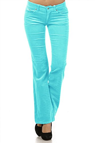 b264c699521 Limit 33 Juniors Teen Small Medium Large XL Corduroy Pants Low Rise ...
