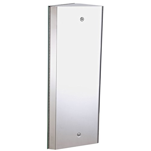 Homcom Armoire Miroir Rangement Toilette Salle De Bain Meuble Mural