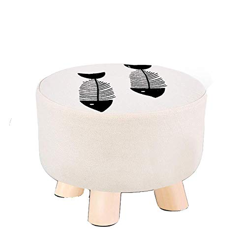 YLCJ Stool Low StoolFuton Tatami Floor Bow Window Cushion Seat Round Balcony Linen Cotton Fabric Removable and Washable High Elastic Sponge Non-Slip mat Solid Wood (Window Cushions Seat Bow)