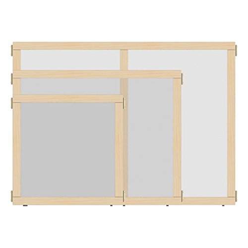 """KYDZ Suite 1512JCTPL Panel, See-Thru, T-Height, 36"""" Wide"""