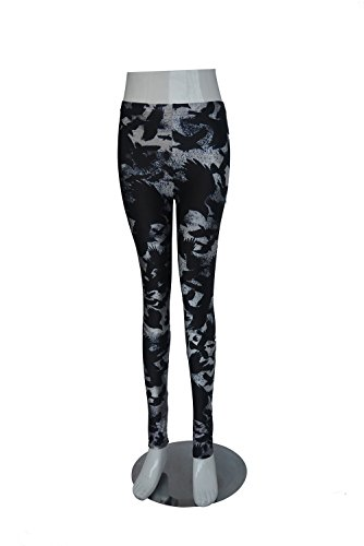 Original-Design estress Tattoo Leggings Galaxy Sterne Print Style Comic Destroy Graffiti Muster Galaxy DDK10465