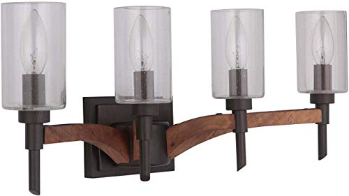 Craftmade 40304-ESPWB Tahoe Vanity Wall Lighting, 4-Light, 240 Watts, Espresso (23