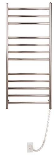 Myson WDIA12 12-Bar Wall Mount Towel Warmer, Bright Finish, Diamond