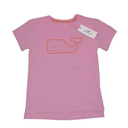 Graphic Whale T Shirt Peony Pink Short Sleeve (L) ()