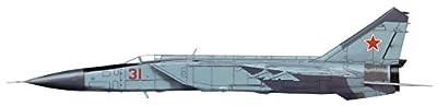 MIG-25P Foxbat Red 31, flown by Lt. (Sg.) V. Belenko, Chuguyevka Airbase, Japan 1976, HA5601