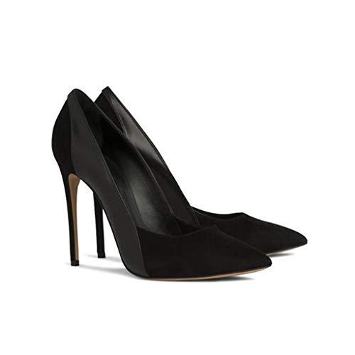 De Mercure Chaussures Lyy Élevé Couture Robe Plate Black Tampon yy Soirée Simples forme Banquet Pointé Stiletto Femmes TqTgxSBw