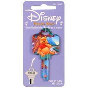 The Hillman Group 94442 #68 Disney Winnie the Pooh Key