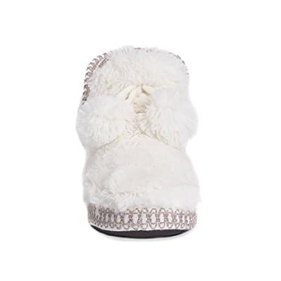 MUK LUKS Women's Faux Fur Amira Slippers | Slippers