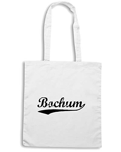 Speed Shirt Borsa Shopper Bianca TSTEM0098 VINTAGE BOCHUM BLACK