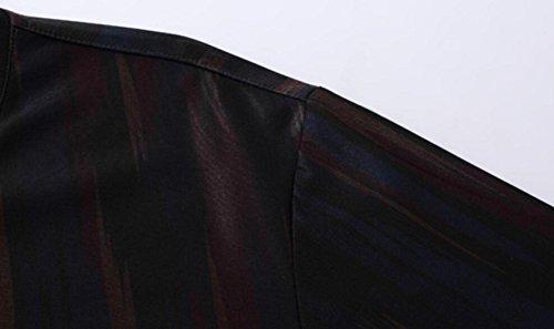 De Hombres Corta Manga Negro Algodón Verano Y Transpirable Cómoda Camiseta Para pdfqZzp