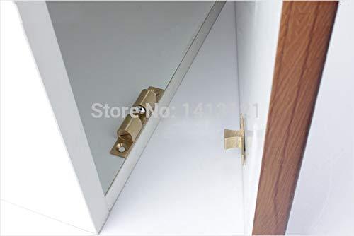 150 pieces 42mm brass cabinet Catch metal furniture Hardware part door catch door closer kitchen DIY household ball detent by Kasuki (Image #3)