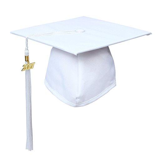 graduation cap white - 8