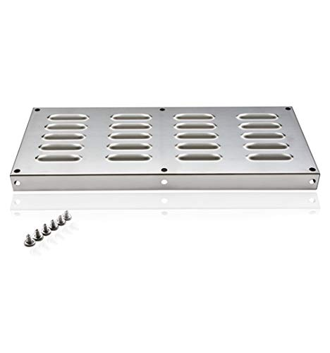 Skyflame 15-Inch by 6-1/2-Inch Venting Panel for Masonry Fire Pits and Outdoor Kitchens, Stainless Steel (Bbq Island Vent)