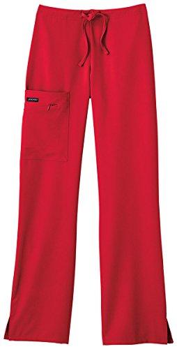 Red Scrub Pants - 9